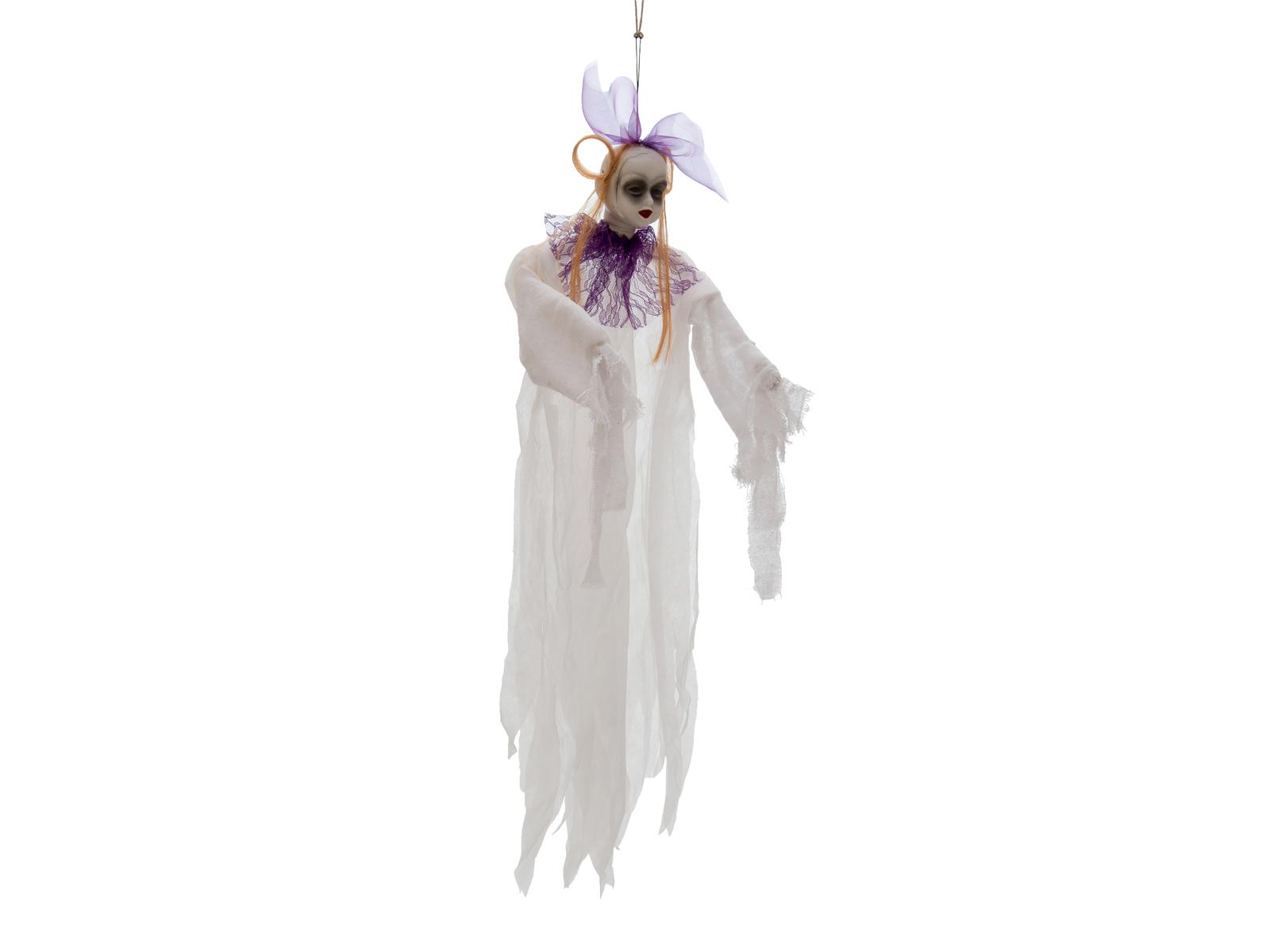 Halloween postava s dětským obličejem, 90cm