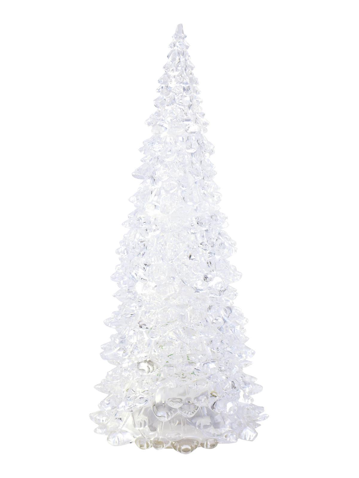 LED umělý vánoční stromek malý, 18 cm