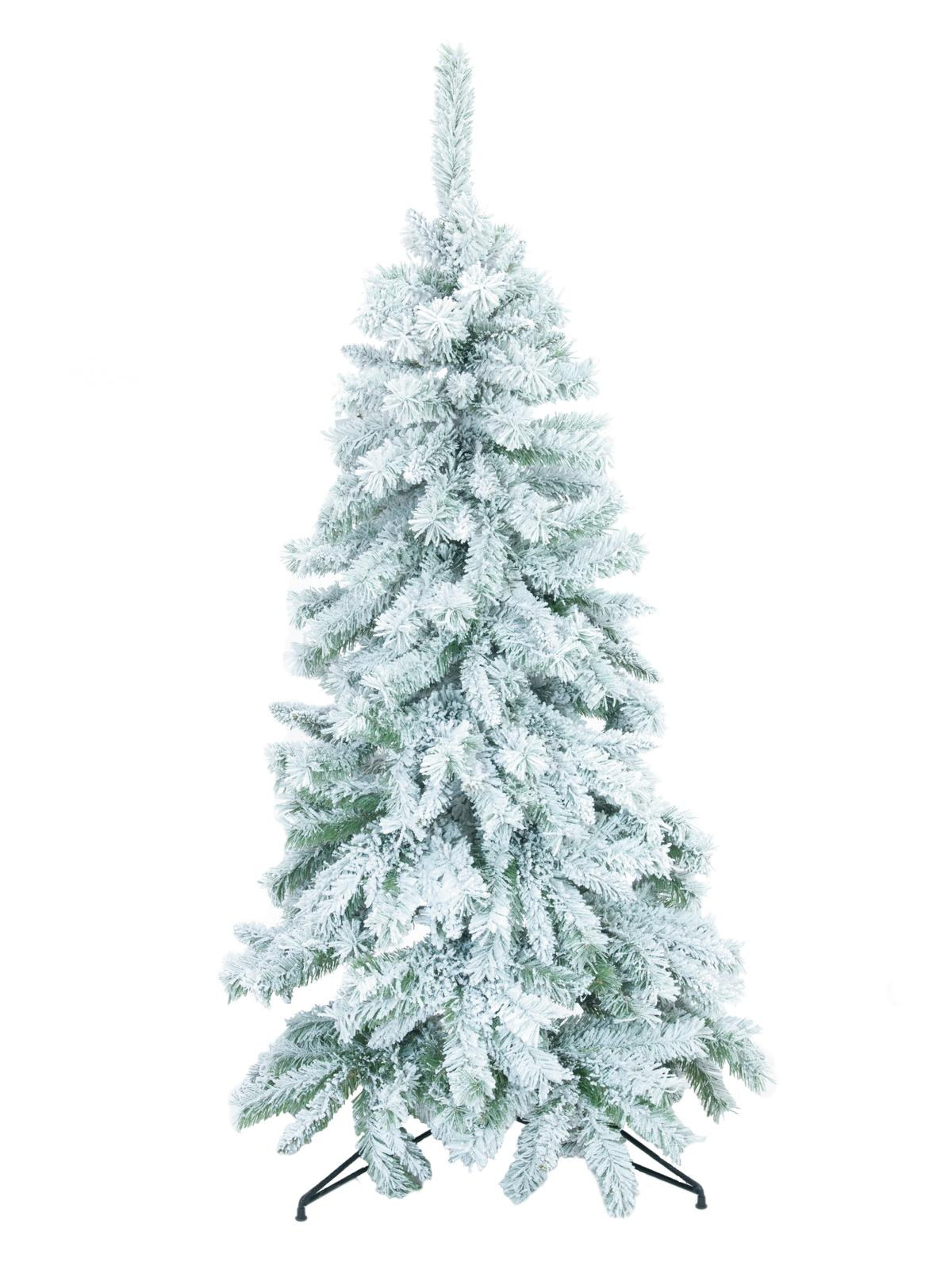 Umělý vánoční stromek Jedle zasněžená, 210 cm