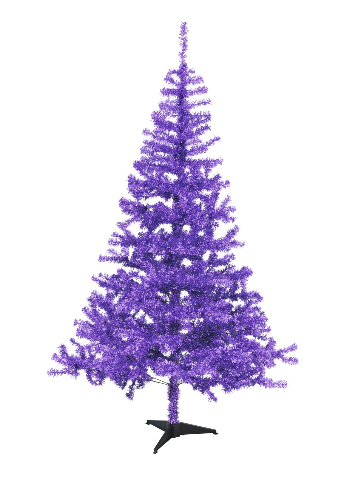 Vánoční jedle, fialová, 180 cm