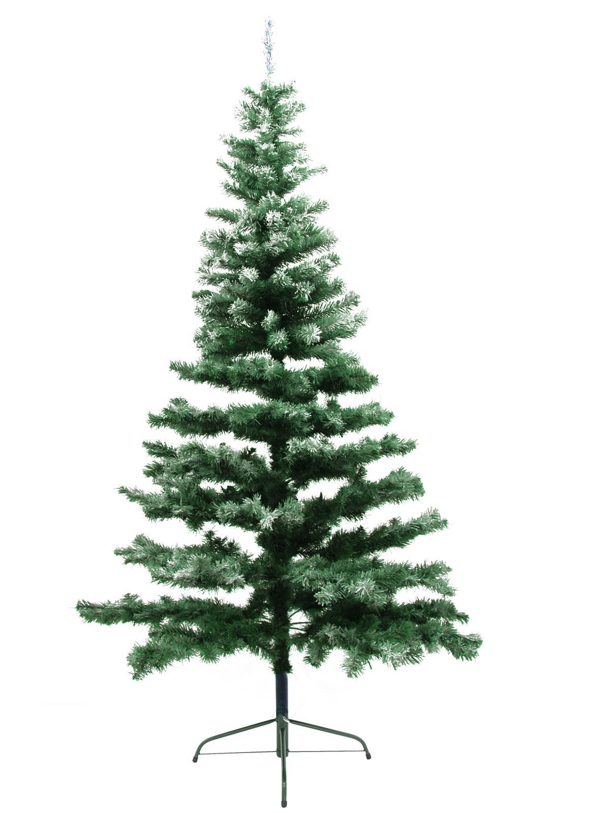Umělý vánoční stromek Jedle zasněžená, 240 cm