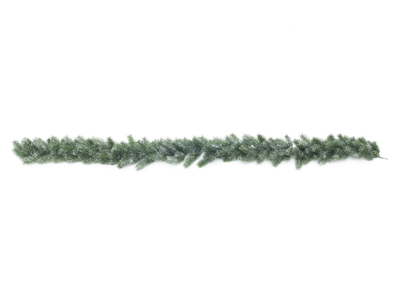 Jedlová girlanda zasněžená, PE, 180 cm