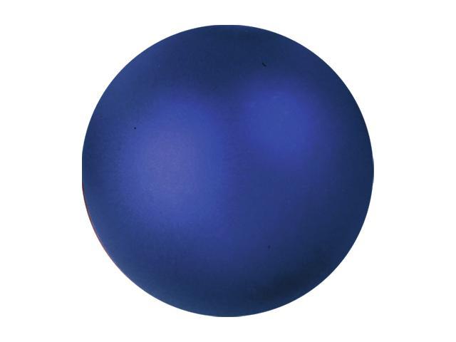 Vánoční dekorační ozdoby, 3,5 cm, modrá metalíza, 48 ks