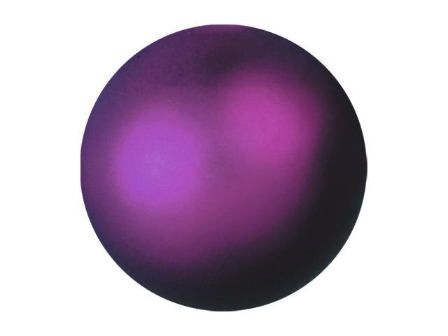 Vánoční dekorační ozdoby, 3,5 cm, fialová metalíza, 48 ks