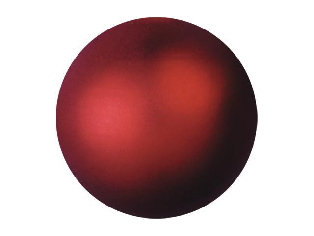 Vánoční dekorační ozdoby, 3,5 cm, červená metalíza, 48 ks