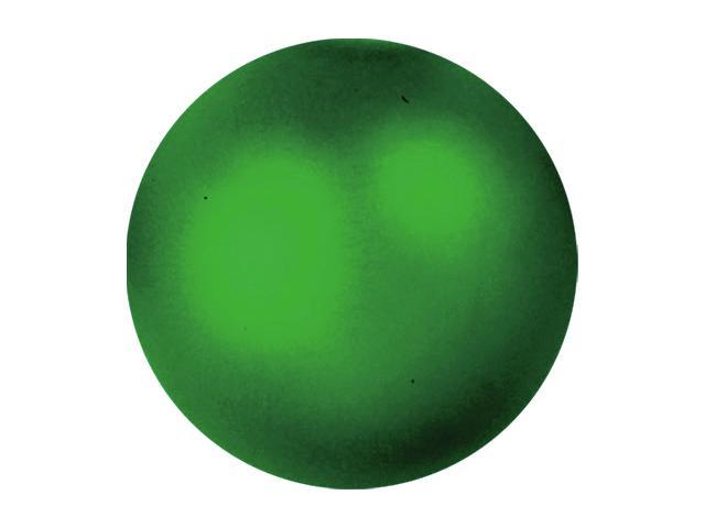 Vánoční dekorační ozdoby, 3,5 cm, zelená metalíza, 48 ks