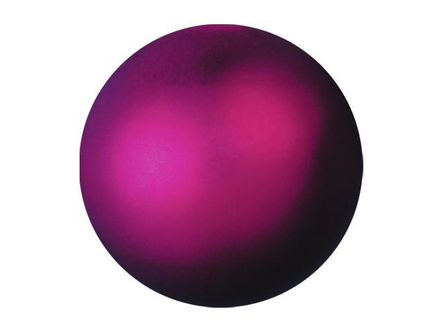 Vánoční dekorační ozdoby, 3,5 cm, růžová metalíza, 48 ks