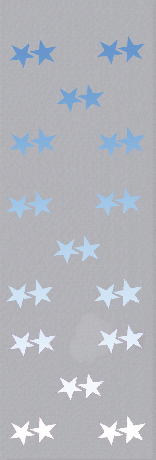 Dekorační závěs, hvězdy