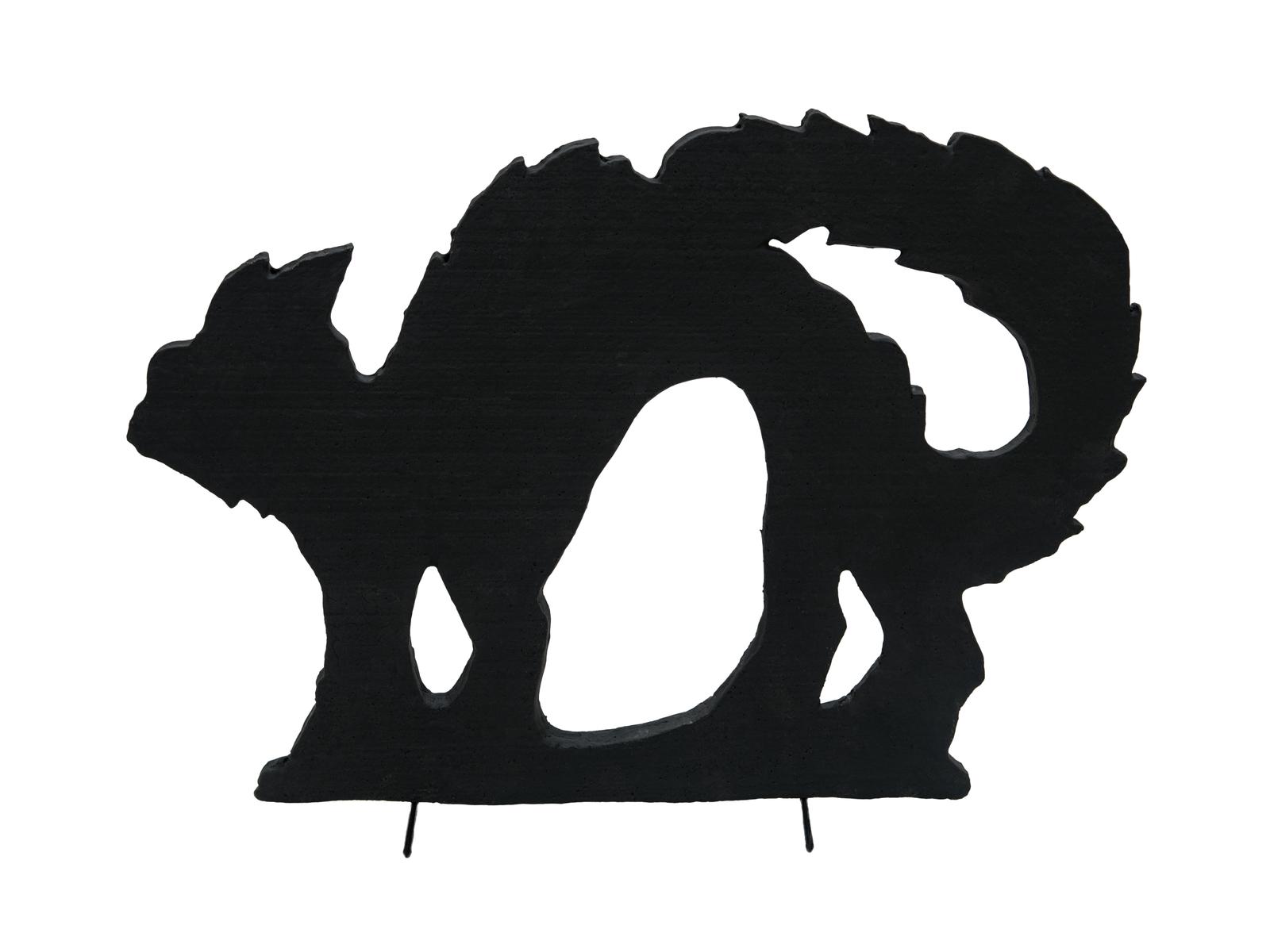 Halloween silueta kočky, 42cm
