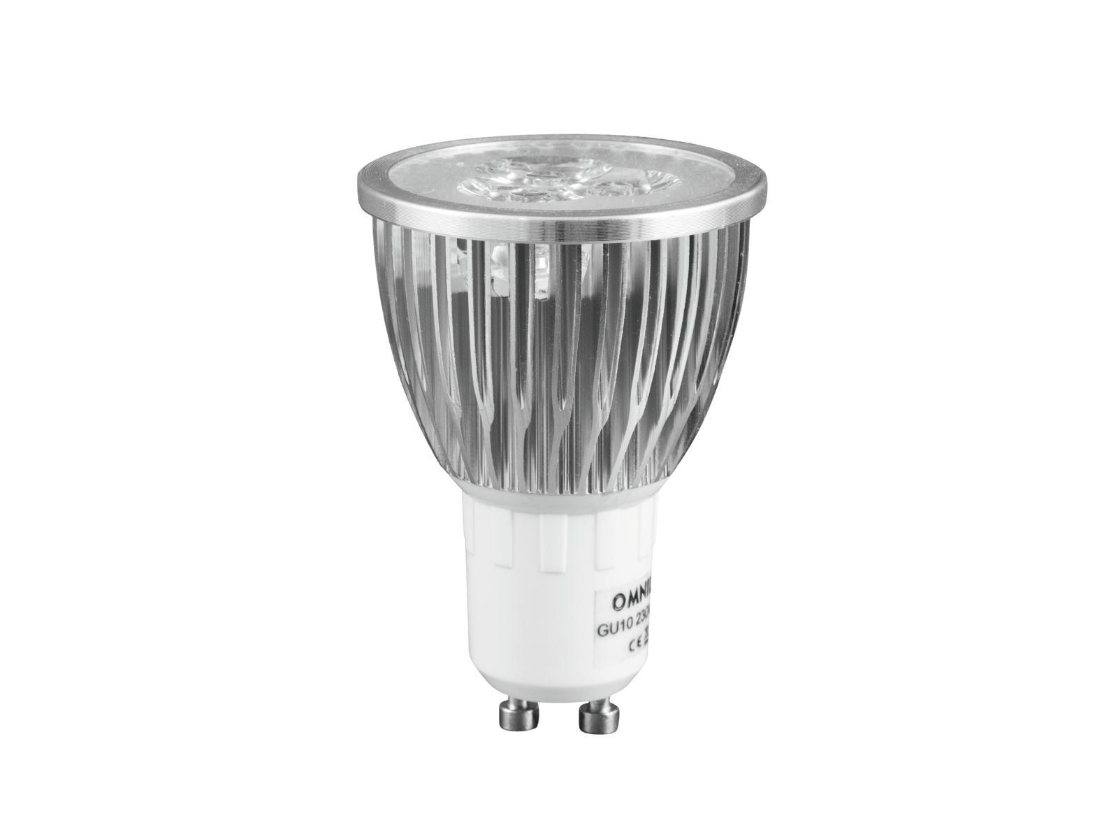 230V/3x2W LED GU-10 CR 6500K Omnilux, 30