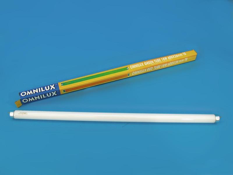 Trubice 18W 600x26mm G13 T8 Omnilux, modrá