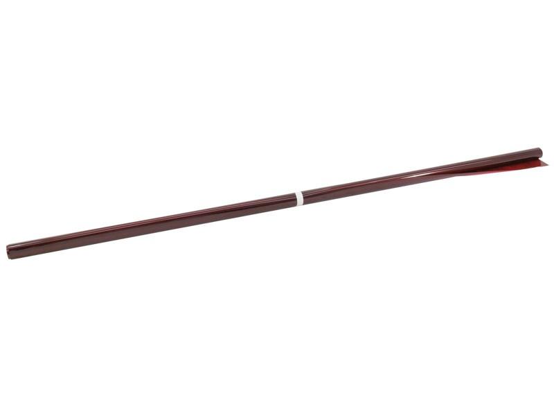 Foliová role 106, červená, 122x100cm