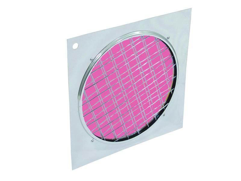 Dichrofiltr PAR 64 magenta, stříbrný rámeček