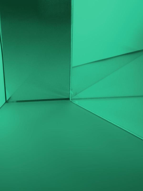 Dichrofiltr 195 x 191 mm, zelený