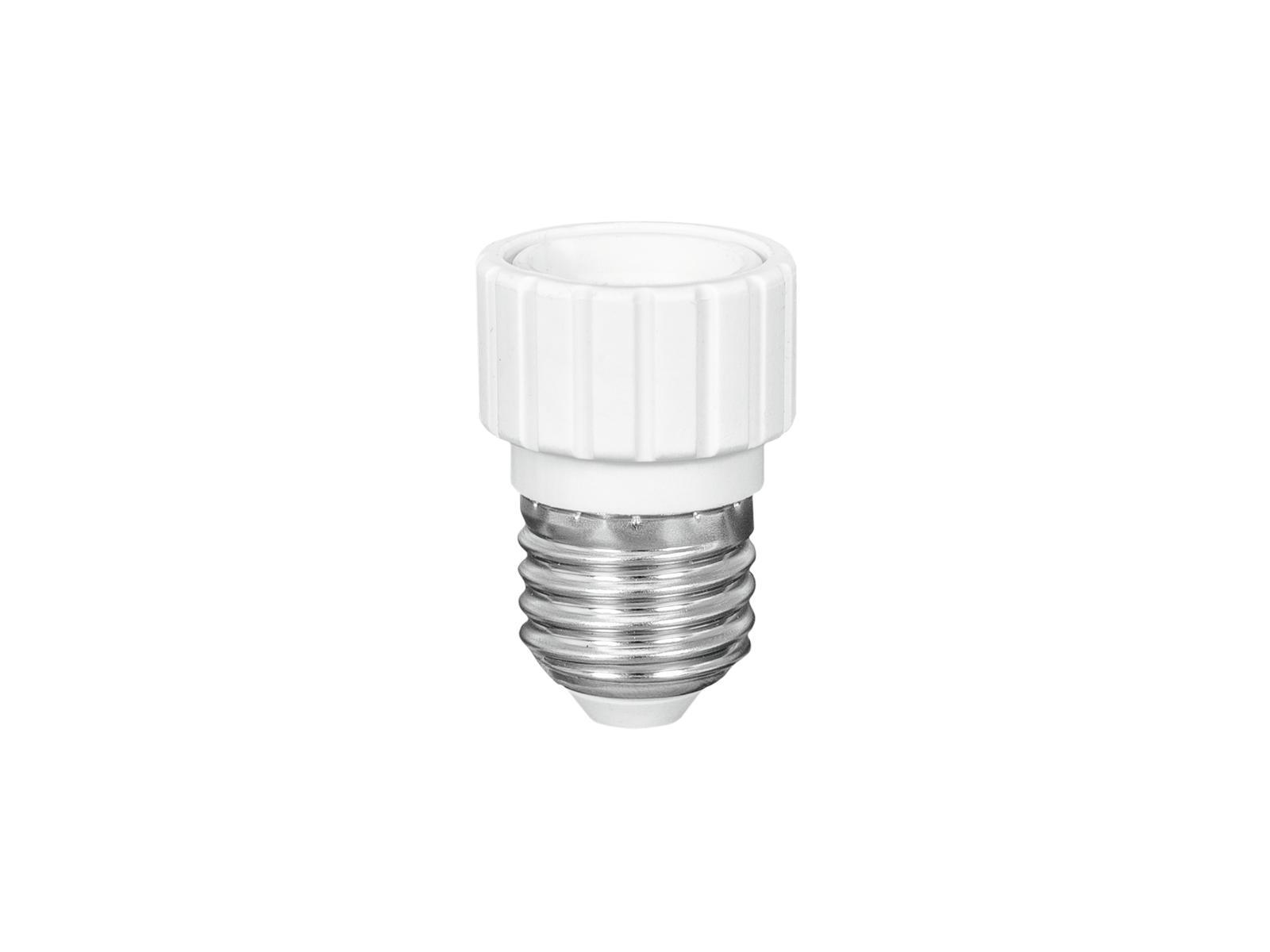 Eurolite adaptér patice E27/GU10