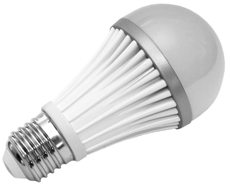 240V/9W E27 2700-3000K, LED světelný zdroj