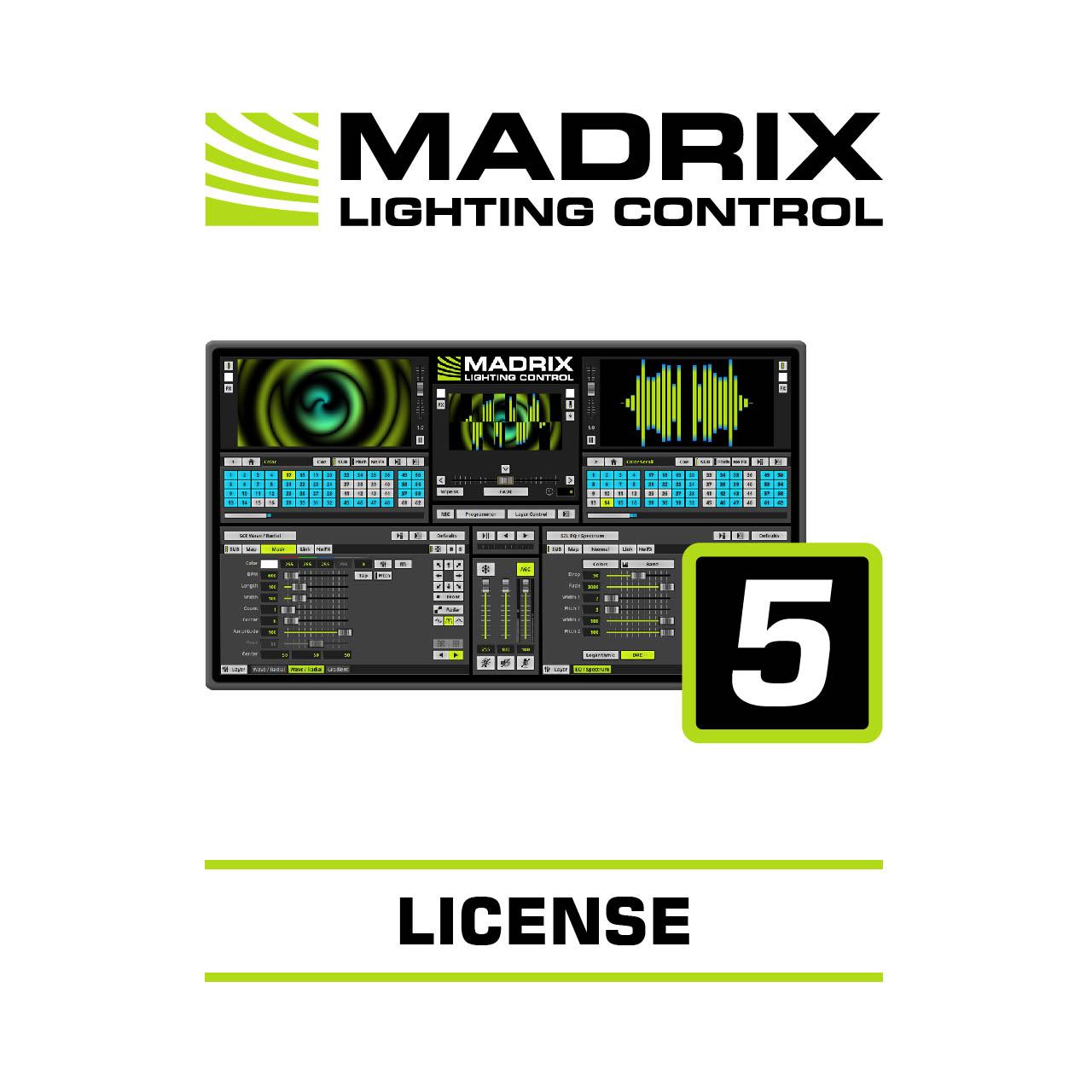Madrix Basic, sw licence, 16384 kanálů, vyžaduje Madrix 5 Key