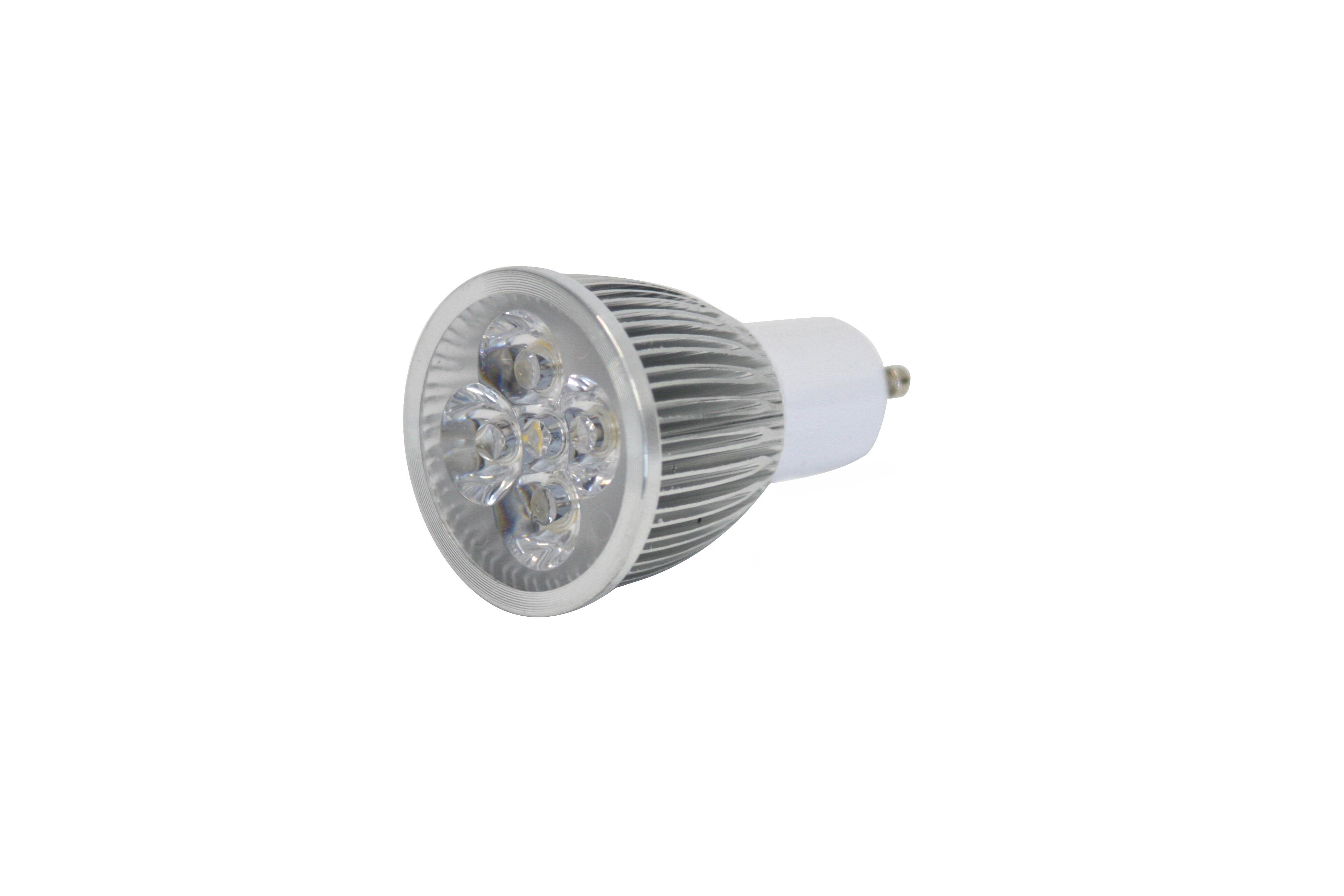 230V / 5W LED spot GU-10, 3000K