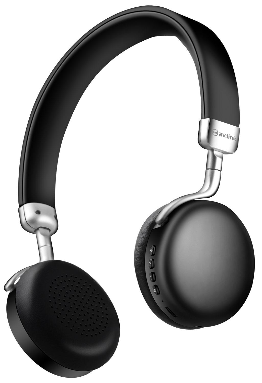 AV:link NEO Black, Bluetooth stereo sluchátka