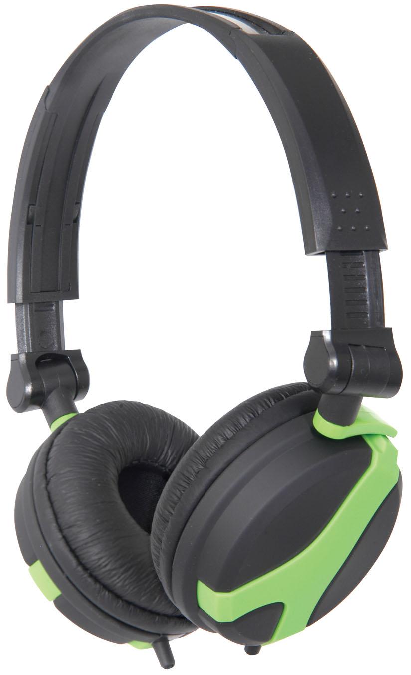 QTX40, DJ Hi-Fi sluchátka zelená