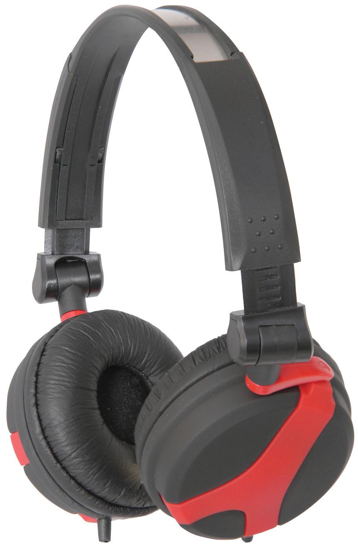 QTX40, DJ Hi-Fi sluchátka, červená