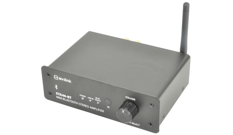 AV:link STA40-BT, Mini Digital Stereo zesilovač s Bluetooth