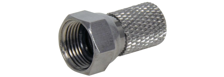 AV:link C0001, HQ F konektor samec pro RG6 kabely