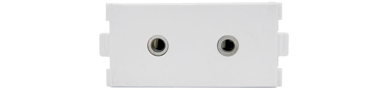 AV:link modul 2x Jack 3.5mm stereo samice