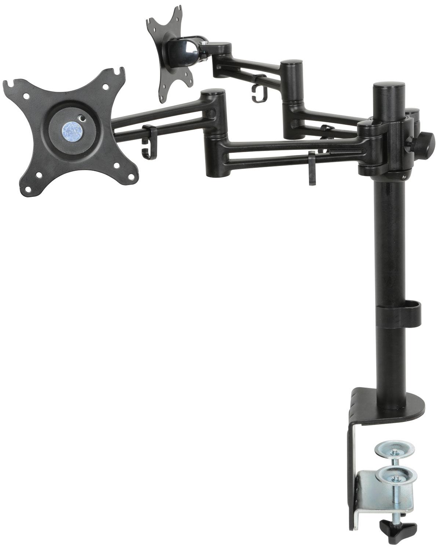 AV:link DM212 dvojitý stolní držák LED/LCD monitoru 10-30