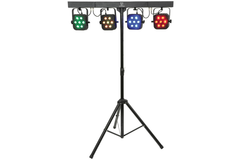 QTX PB-7 LED PAR Bar, světelná rampa 28x 3W TCL LED, DMX