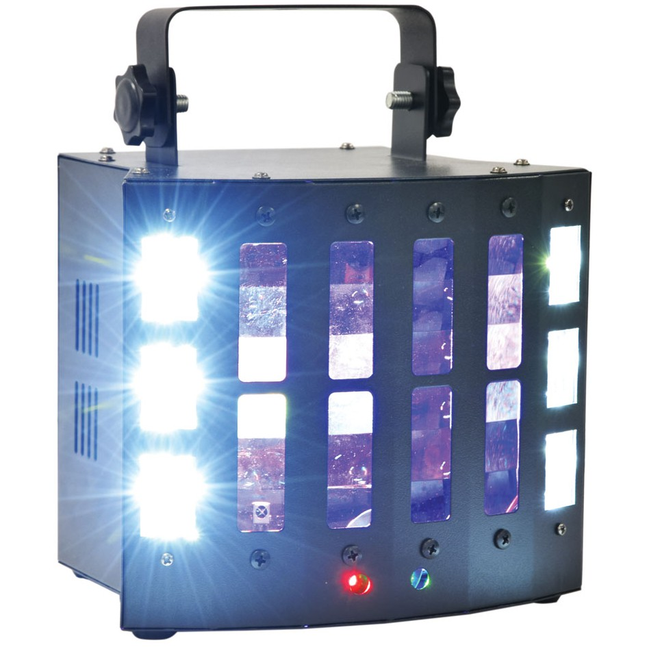 QTX SURGE LED světelný efekt, Derby/Laser/UV/Strobe