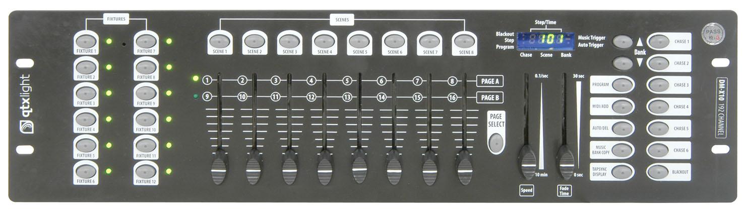 QTX Operator 192, DMX kontrolér