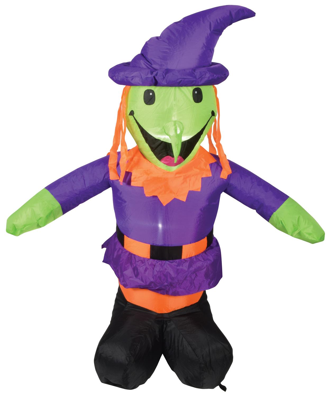QTX INF-WITCH nafukovací čarodějnice v klobouku