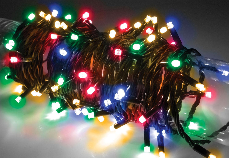 Lyyt 180 LED heavy duty static string light - Multicolour RGBA
