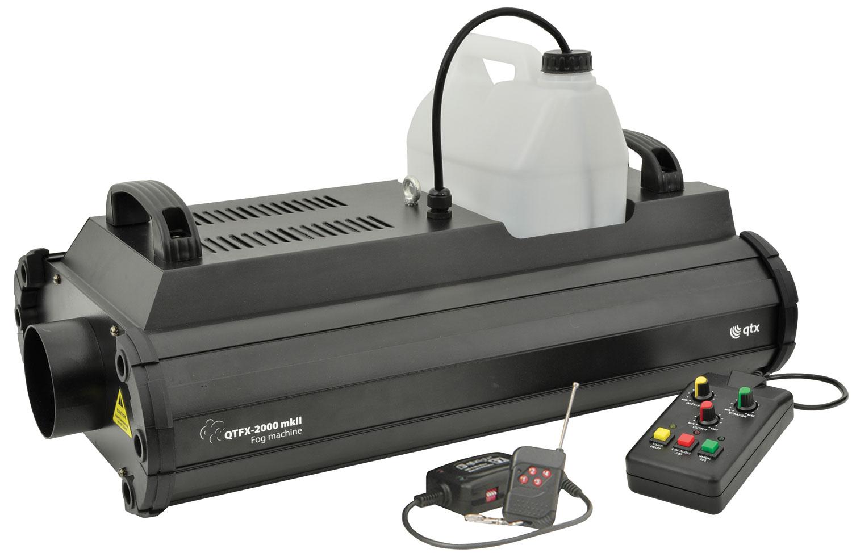 QTX QTFX-2000 MKII výrobník mlhy, 2000W, DMX
