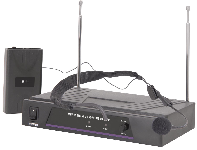 QTX VHF-N1, bezdrátový mikrofon, 1 kanálový, 174.5 MHz