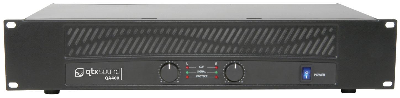 QTX QA-400, zesilovač 2x 200W