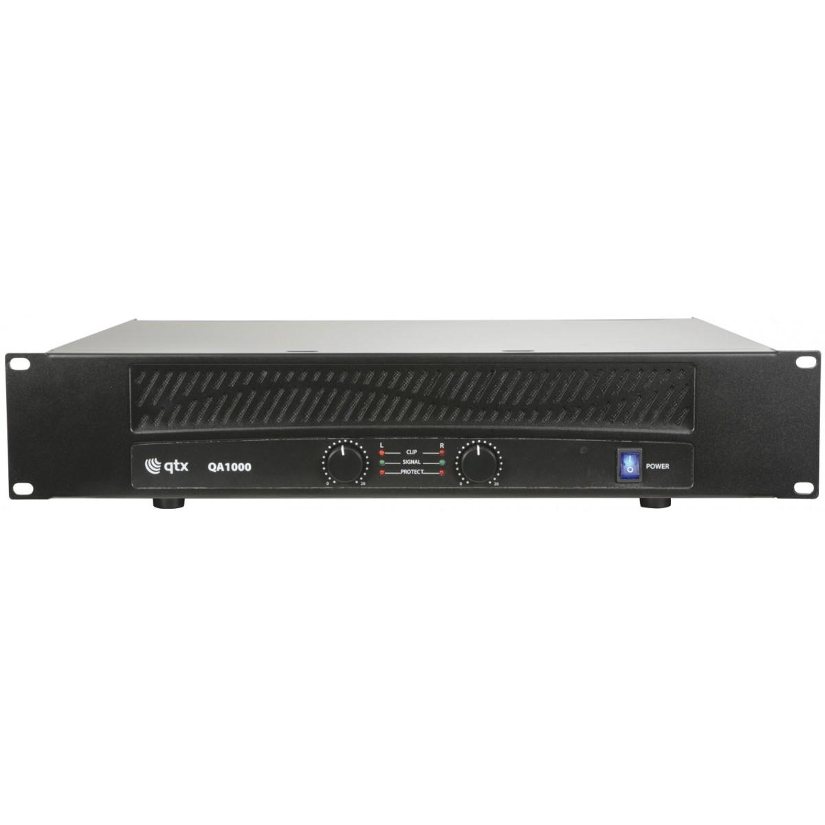 QTX QA-1000, zesilovač 2x 500W