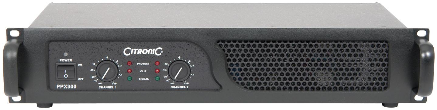 Citronic PPX300, zesilovač 2x 150 W