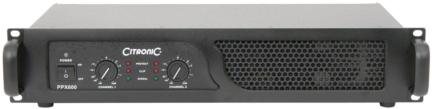 Citronic PPX600, zesilovač 2x 300 W