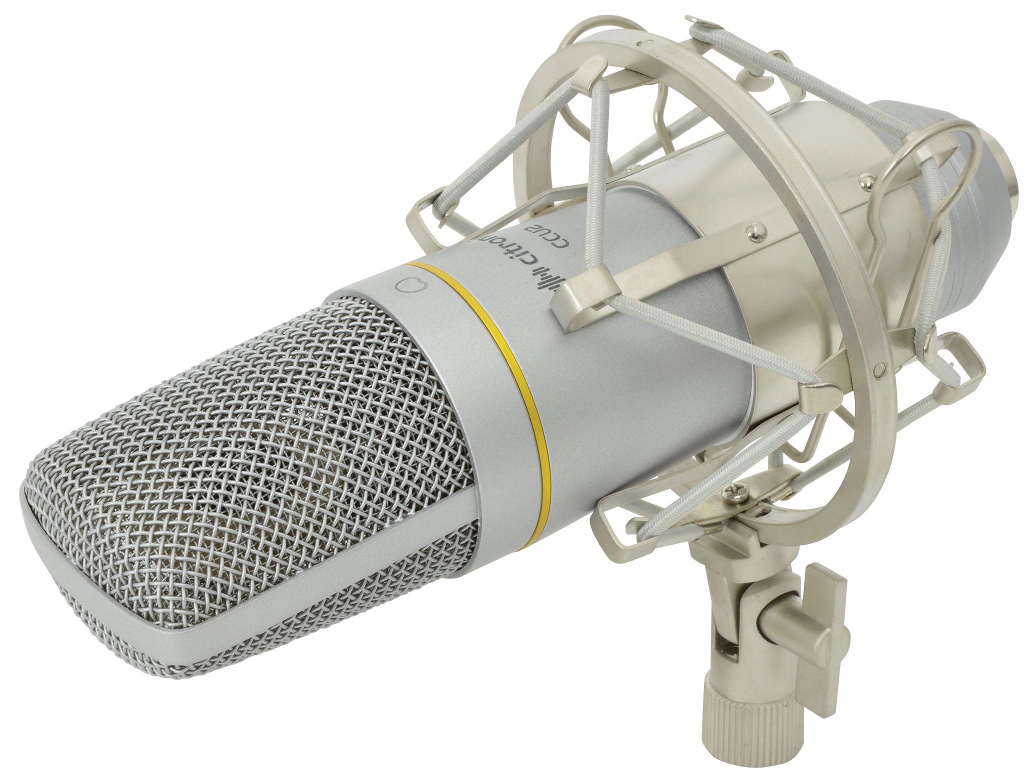 Citronic CCU2 USB, studiový kondenzátorový mikrofon