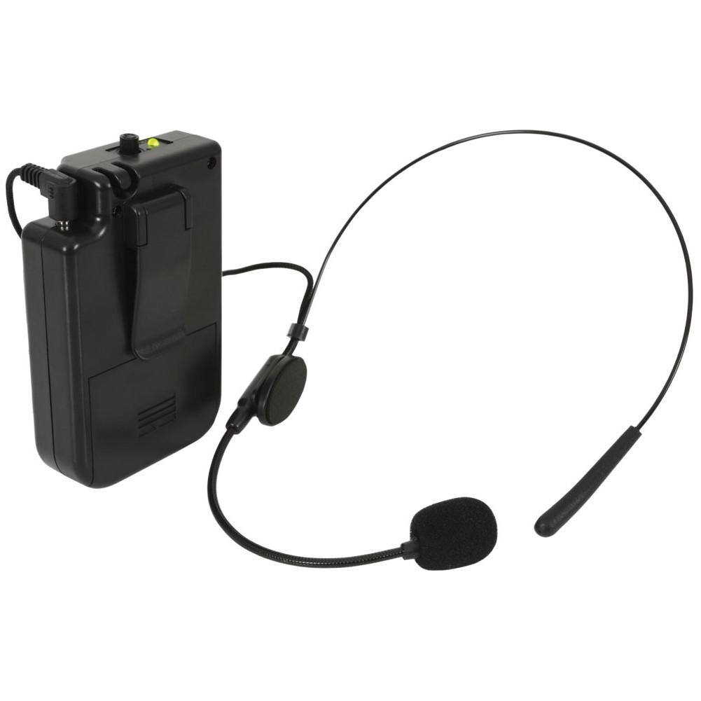 QTX BHS-174.1 VHF hlavový mikrofonní set pro QTX zvukové systémy,