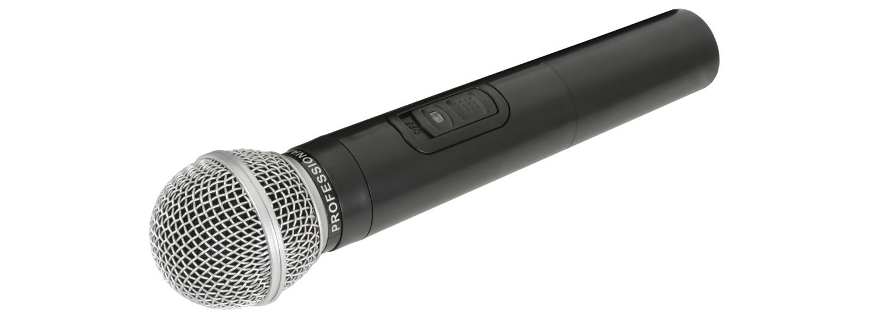 QTX ruční mikrofon VHF pro QR+QX mobilní sady, 175,0 MHz