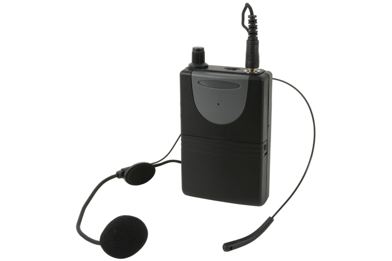 QTX QHS-864.8 UHF hlavový mikrofonní set pro QTX zvukové systémy, 864.8 MHz