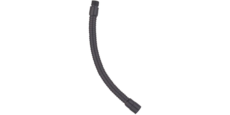 """QTX mikrofonní husí krk, délka 38cm, závit 5/8"""", černý"""