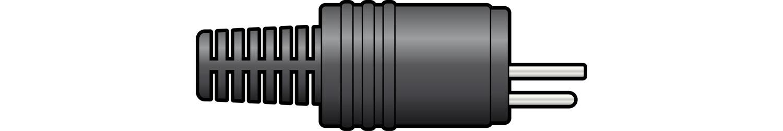 AV:link konektor DIN 2-pinový samec pro reproduktory