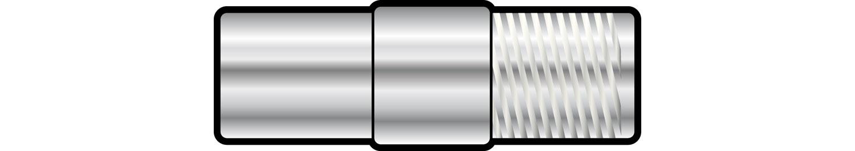 AV:link adaptér koaxiální konektor samec - F-konektor samice