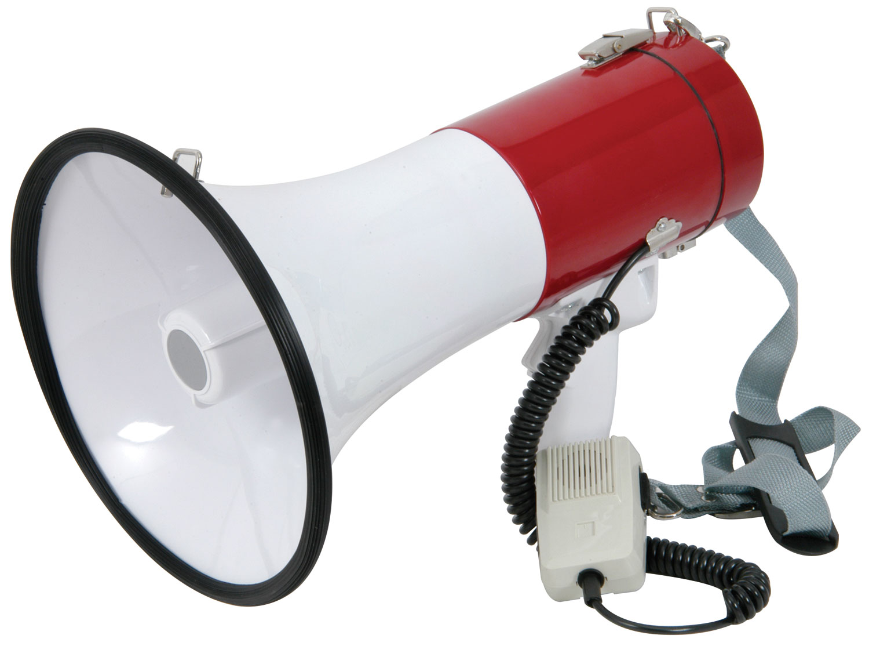 Adastra megafon 30W se sirénou