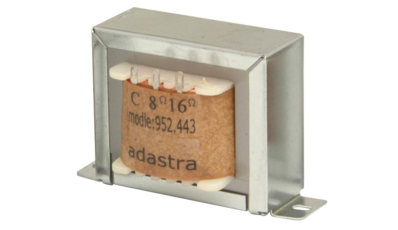 Adastra T30-V 100V transformátor, 1.9, 3.75, 7.5, 15, 30W
