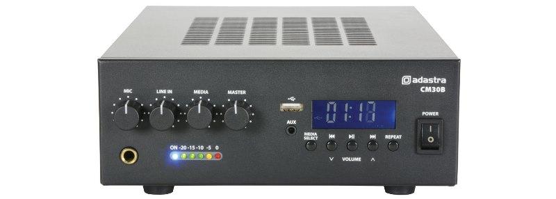 Adastra CM30B, 100V zesilovač